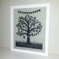 Deluxe Family Tree Papercut