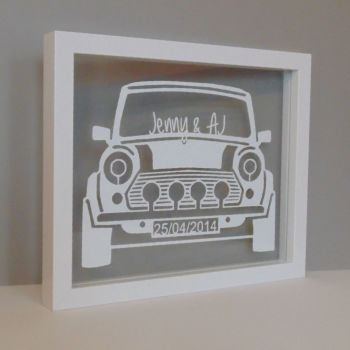 Retro Car Papercut