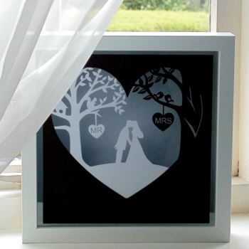 Wedding Scene Papercut
