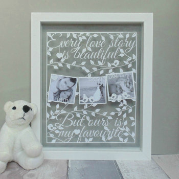 Our Love Story Papercut