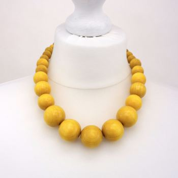 Yellow Chunky Necklace