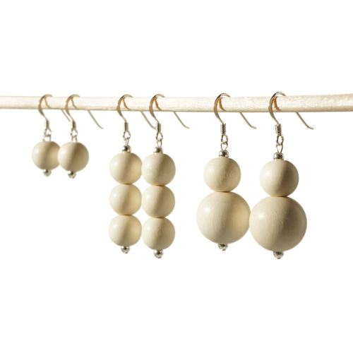 Ivory Dangle Earrings