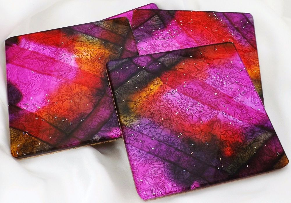 In the pink coasters