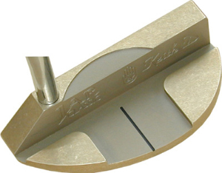 Keith D Classic Brass putter