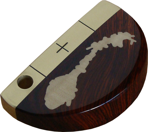 National putter Norway Cocobolo