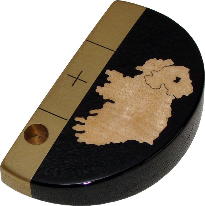 National putter Ireland Ebony