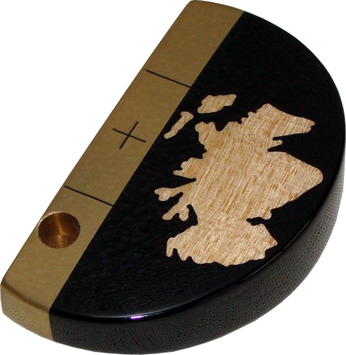 National putter Scotland Ebony