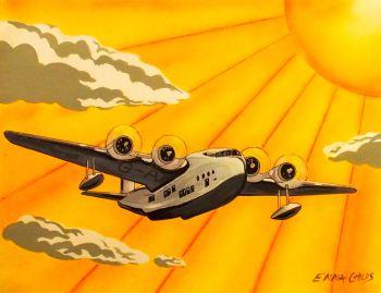 Art Deco Plane