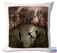 moonlight dance cushion