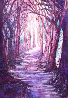 magical mauve forest