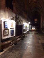 Exeter Cathedral PV night2