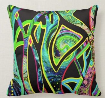 The Dance Vibrant unique Cushion