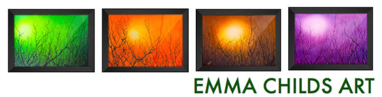 EMMA CHILDS ART, site logo.