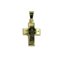 9ct 15mm Crucifix