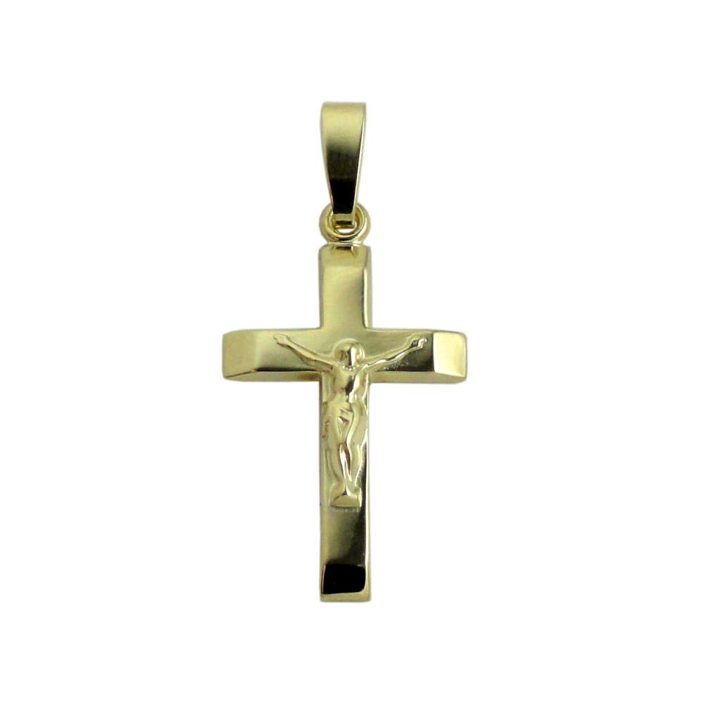 25mm 9ct Crucifix