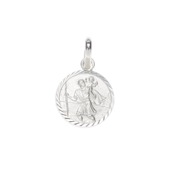 10mm Small St Christopher