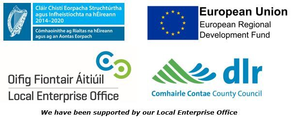 We are supported by our Local Enterprise Office Dún Laoghaire Rathdown