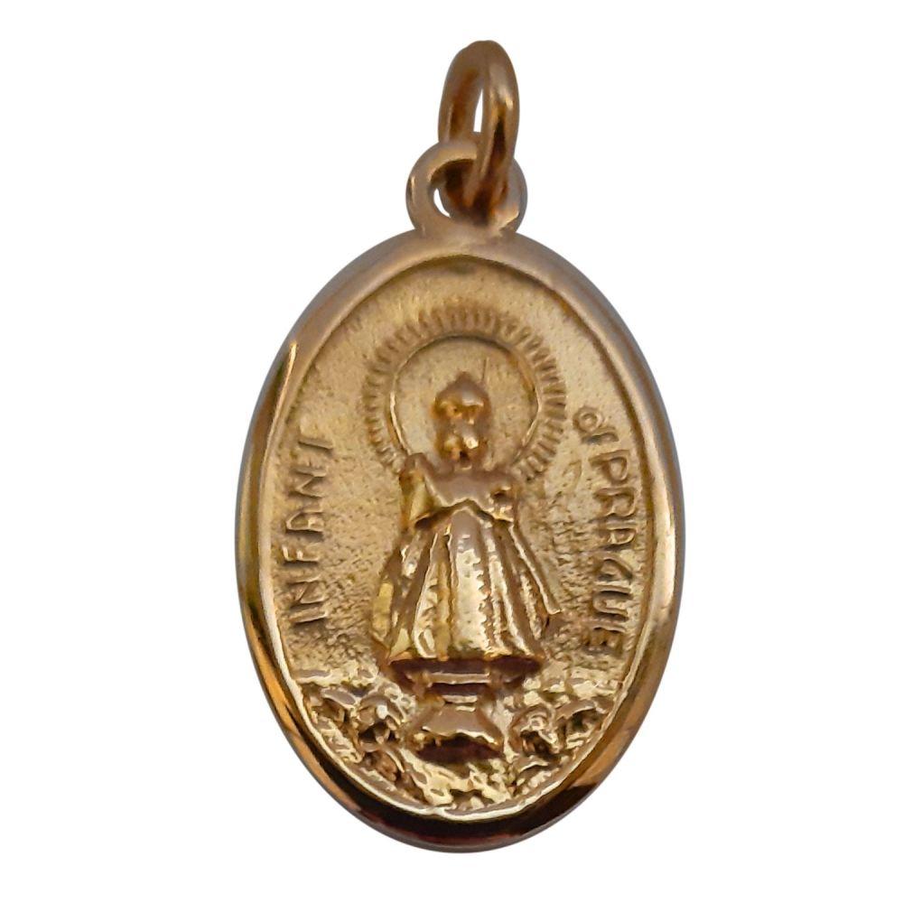 9ct Gold Infant of Prague Medal