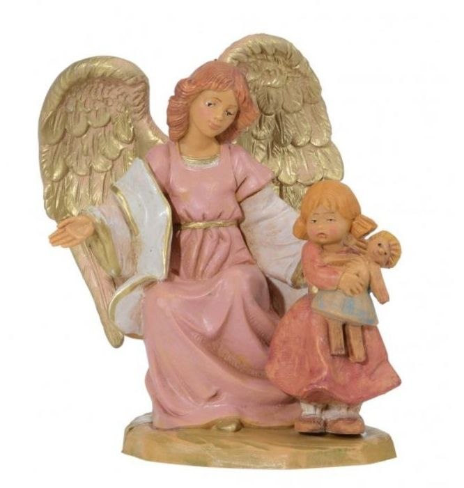 Angel with Girl