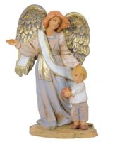 Guardian Angel with Boy, 13cm
