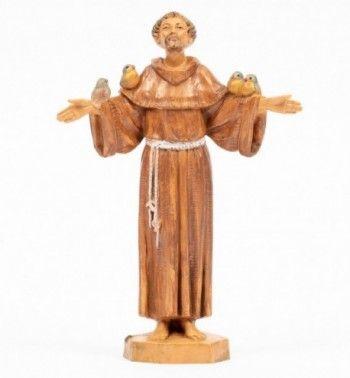 Saint Francis, 17cm