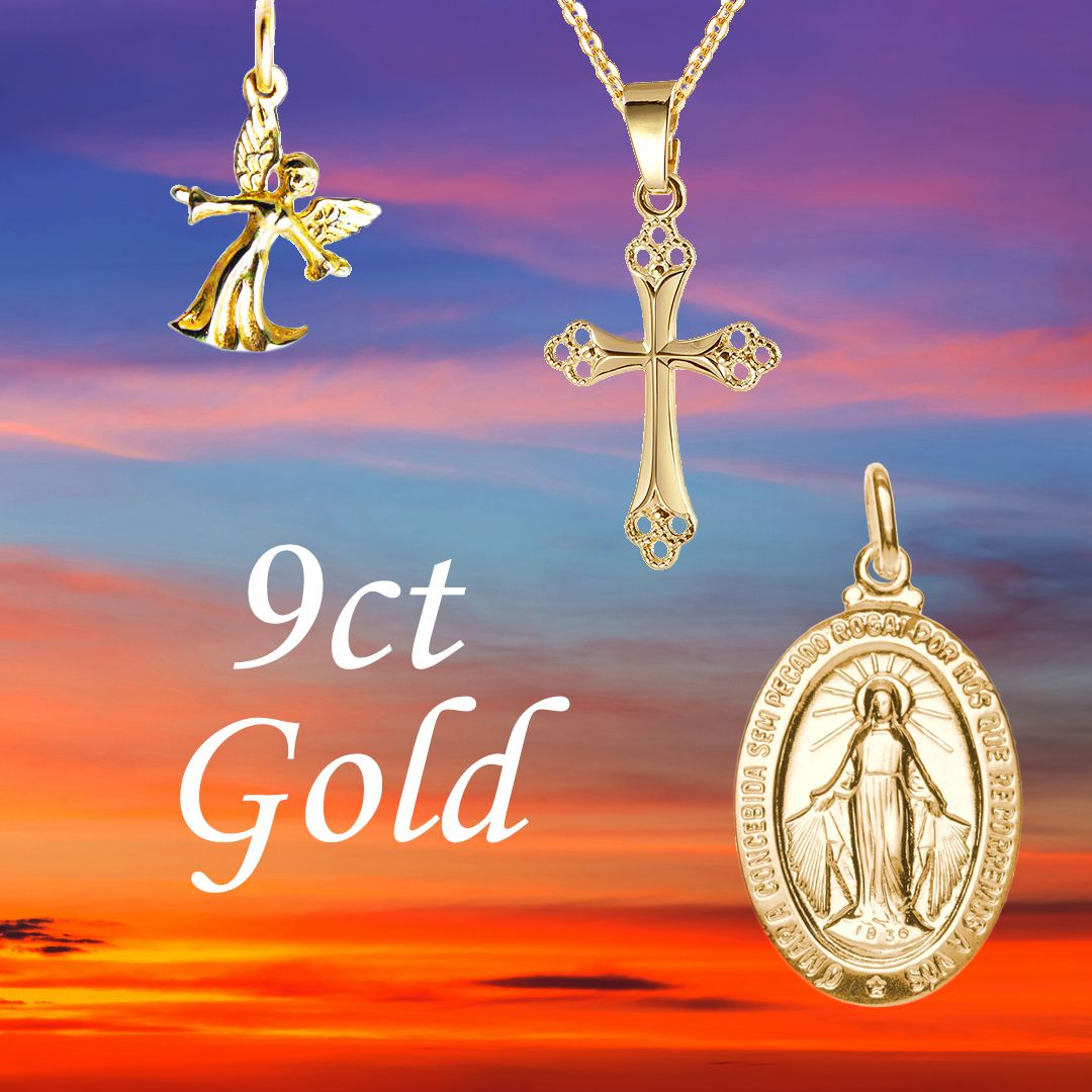9ct Gold Christian Jewellery