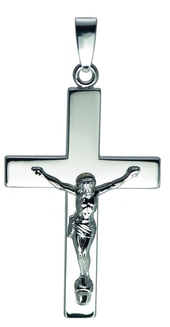 Over-sized gents crucifix
