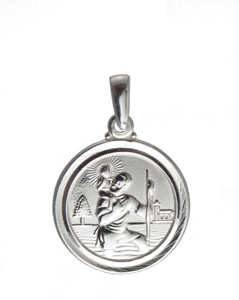 Medium St Christopher Medal