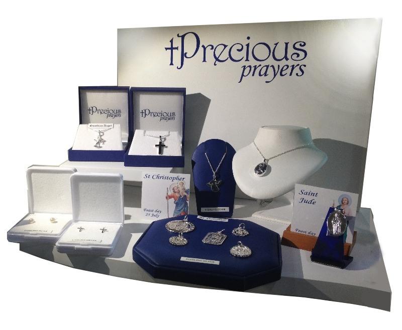 Precious Prayers window display - landscape