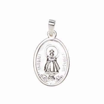 Sterling Silver & Gold Patron Saints Medals - Free Delivery