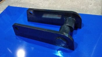 Manitou brackets Two part pair