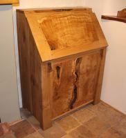 bureau in oak