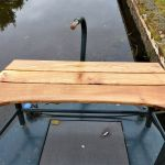 Bench for a Narrow Boat