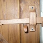 Wooden door latch - available in various timbers £30
