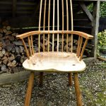 Welsh Stick Chair - Sycamore & Cherry