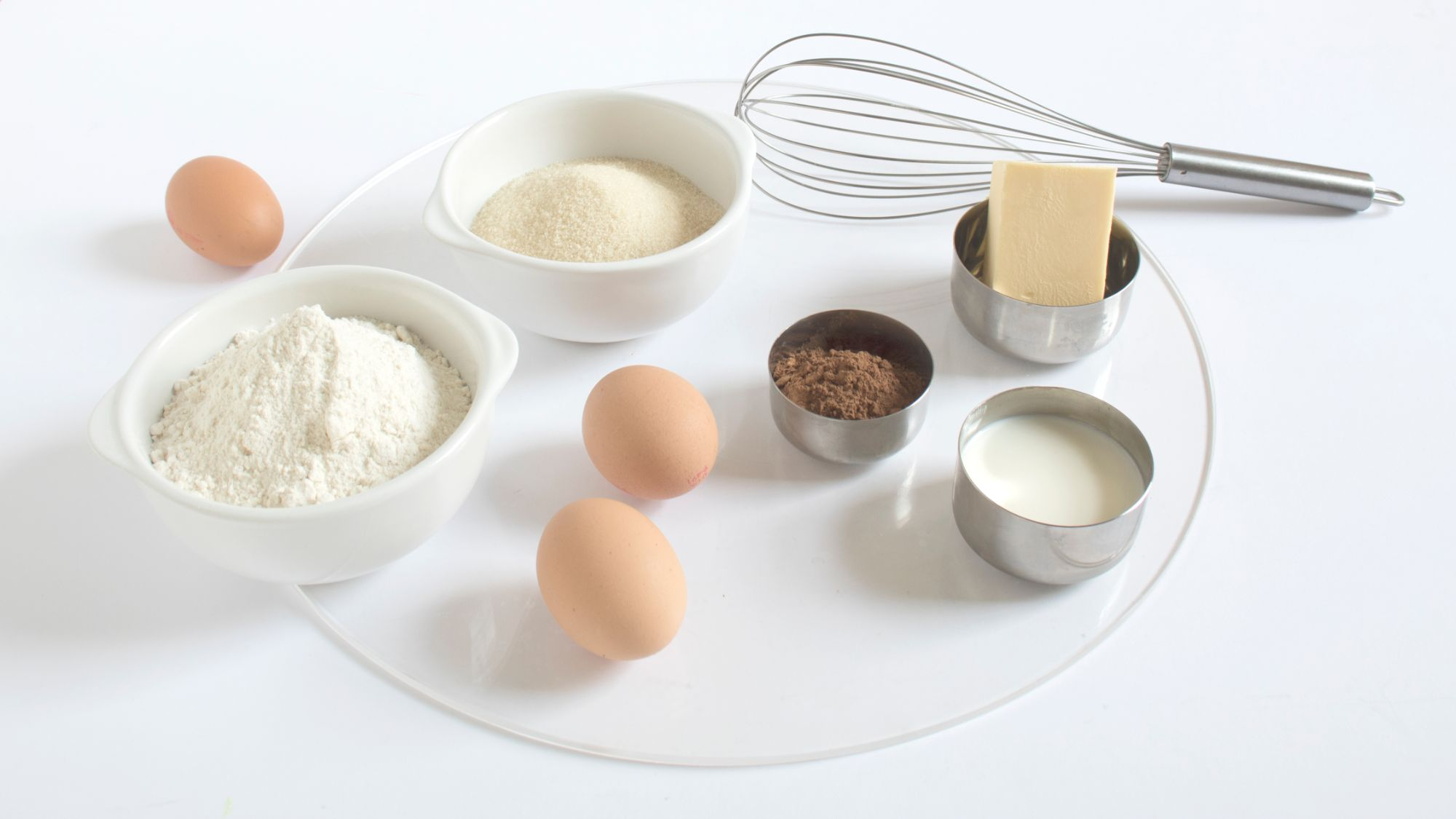 ingedients to bake a delicios cake