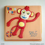 Animal Kids Cake Tinga Tinga Monkey Cake