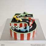 Boys Birthday Cake Cars Racing
