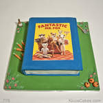 Kids Birthday Cake The Fantastic Mr Fox Book