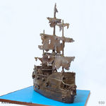 930 pirate gost ship cake