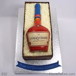 932 courvoisier bottle cake