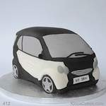 Personalised Novelty Cake Smart Car