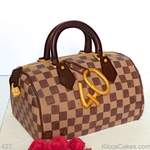 Personalised Novelty Cake Louis Vuitton Handbag