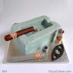 Novelty Cake for Man Cigar Cake