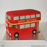 London Novelty Cake London Routemaster Bus