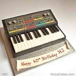 Birthday Novelty Cake Synthesiser
