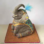 Celebrations Novelty Cake Indian Elephant