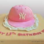 Cool Novelty Cake Baseball Cap