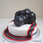 Canon Camera Novelty Cake