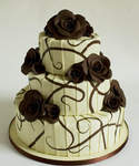Chocolate Wedding Cake Brandy Chocolate